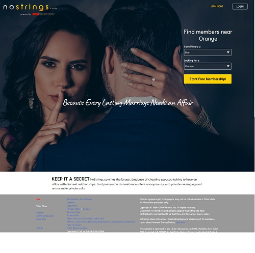 No strings website
